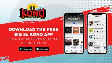 Download The Big 86 KONO App Today