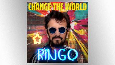"""Ringo Starr discusses his new EP and how he wants to """"Change the World"""" for the kids"""